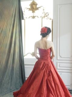 赤ドレス.JPG